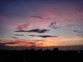 素晴らしい夕焼け!