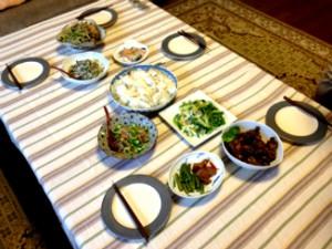美沙さん手作りディナー
