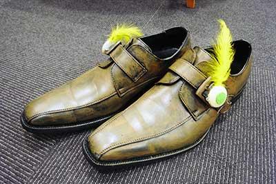 ボルボじいさんのオシャレな靴