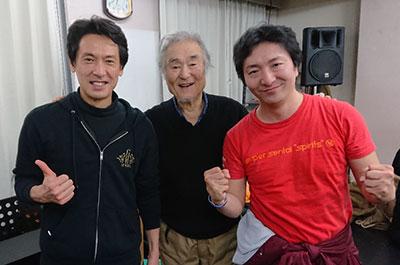 戸井勝海さん、松原剛志さん