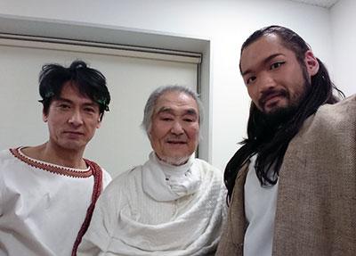 戸井勝海さん、奈良坂潤紀さん