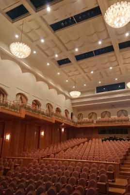 ヨーロッパ風な劇場内部