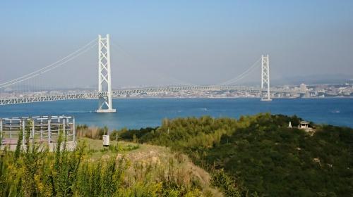 淡路島から明石海峡大橋を渡って神戸までtitle=